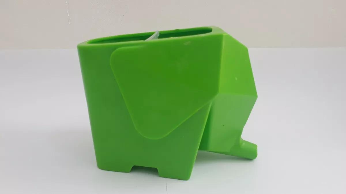 Porta Escova De Dente Pasta Porta Treco Vaso Tipo Elefante