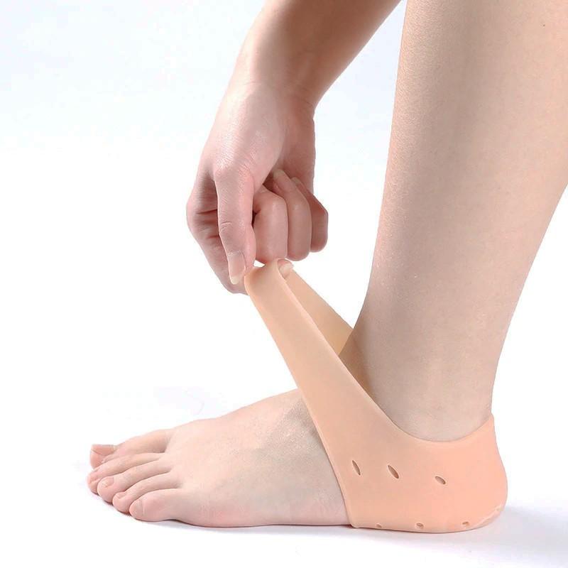 Protetor De Calcanhar Feminino De Silicone Tênis Sapato