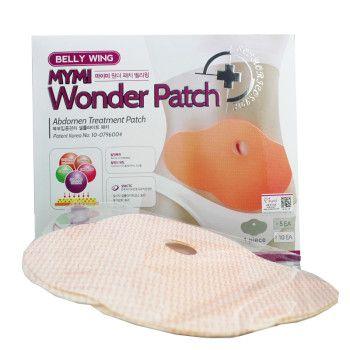 Seca Barriga Emagrecimento Wonder Patch Gordura 5 Unids