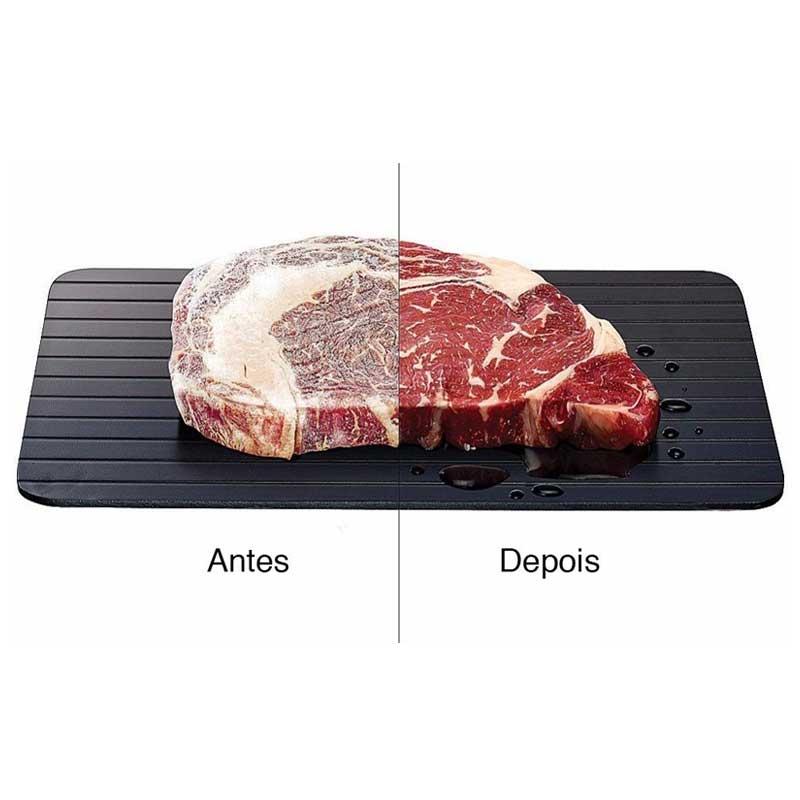 Tábua Descongelamento Rápido De Carnes E Alimentos Defrost