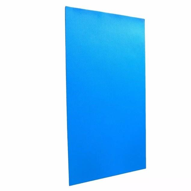 Tapete Colchonete Eva Yoga Ginástica Pilates 10mm Azul