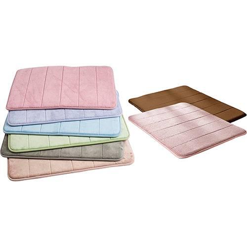 Tapete de Banheiro Soft Memory Matrix 40 x 60 cm Cores E Modelos Sortidos