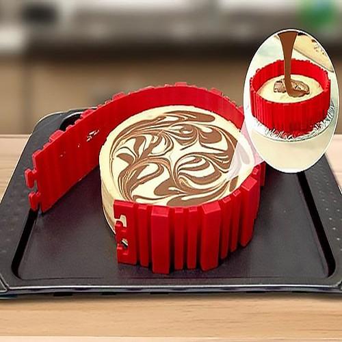 Tiras de Silicone para formas de bolo Bake Snake