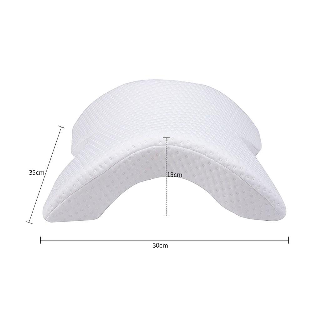 Travesseiro Almofada Lavável Ortopédico Pescoço Cabeça Memória Inteligente