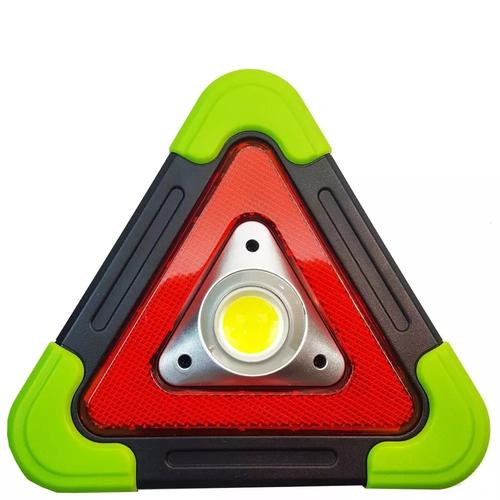 Triangulo De Segurança P/carros Motos Energia Solar