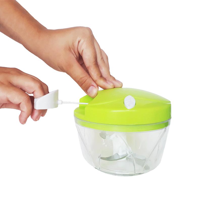Triturador e Picador Alho Cebola Alimentos Manual
