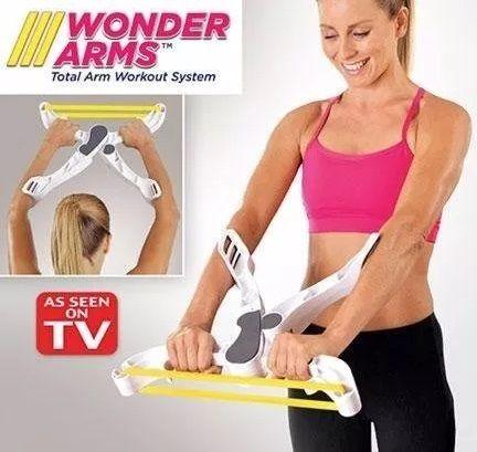 Wonder Arms Aparelho De Exercício Musculação Abdominal
