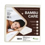 Protetor Colchão King Impermeável Bambu Theva 193x203cm