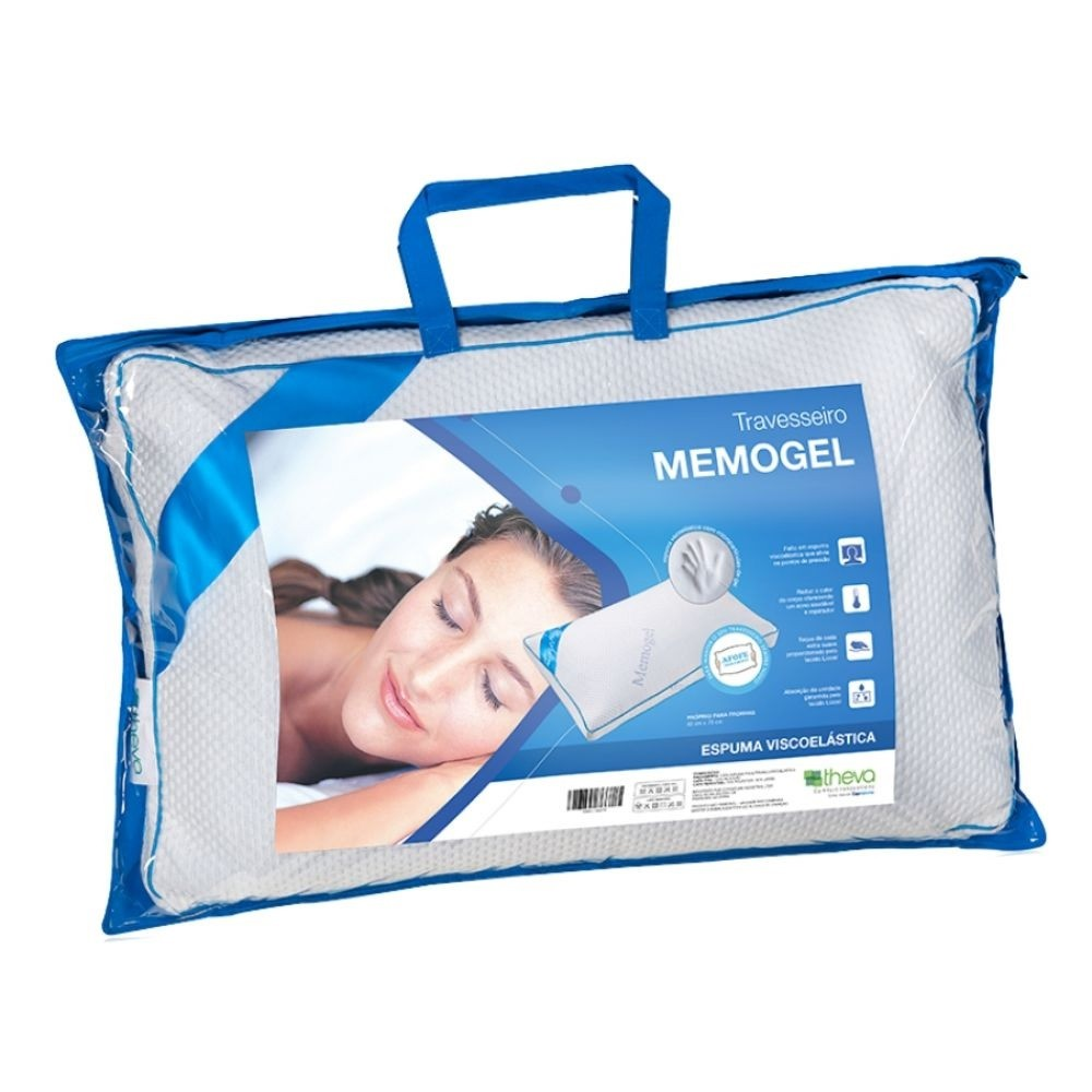 Travesseiro Memogel Pillow Theva 50x70cm