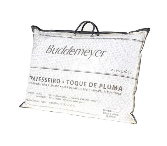 Travesseiro Toque De Pluma Buddemeyer 50x70Cm