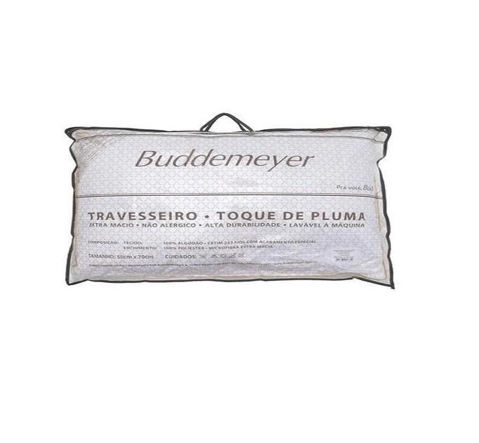 Travesseiro Toque De Pluma Buddemeyer 50x90 Cm