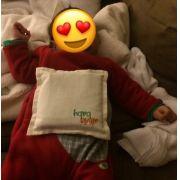 Acalma Bebê Almofada de Ervas Contra Dores do Bebê Cólica - Alivio Baby