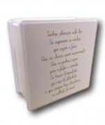 Caixa Organizadora Madeira Mdf sem Repartição Pequena Senhor