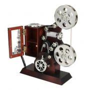 Caixinha de Música Projetor de Cinema 21x14,5cm