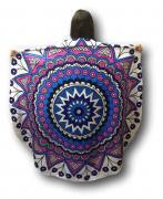 Canga Redonda Toalha Modelo Mandala