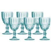 Conjunto de 6 taças cor Tiffany 210ML