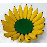 Fruteira de Madeira Bananas G 36x36cm