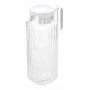 Jarra De Vidro Tampa 1 Litros Transparente Suco - Casambiente