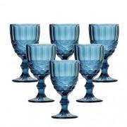 Jogo de Taças para Água Flash Azul