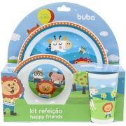 Kit Refeição Infantil 3 peças Animaizinhos