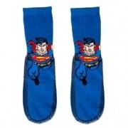 Meia com Solado Antiderrapante Meiufa Superman