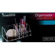 Organizador de Cosméticos de Plástico 18x10cm