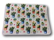 Tapete Antiderrapante Cactus 40x60cm Tessile