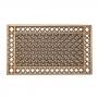 Capacho Borracha Grande Antiderrapante 45X75cm - Rubber Ratt - Cocotuft - Bronze