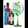 Jogo 2 Taças Gin & Tônica com Haste Verde 705ml -  Ruvolo