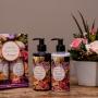 Kit Bouquet Loção Hidratante, Sabonete Liquido, Toalha e Mimo - Princess Florence