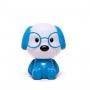 Luminária Abajur Cachorro Azul - Zona Criativa