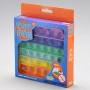 Pop It Quadrado Arco-Íris 13Cm -  Yes Toys