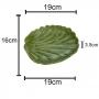Prato Folha Banana Verde Leaf - Lyor