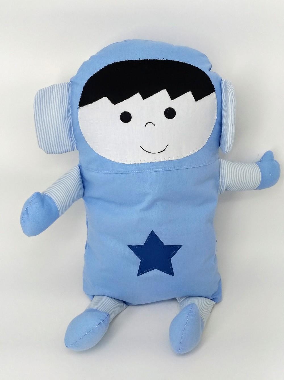 Almofada Naninha para Bebê Astronauta