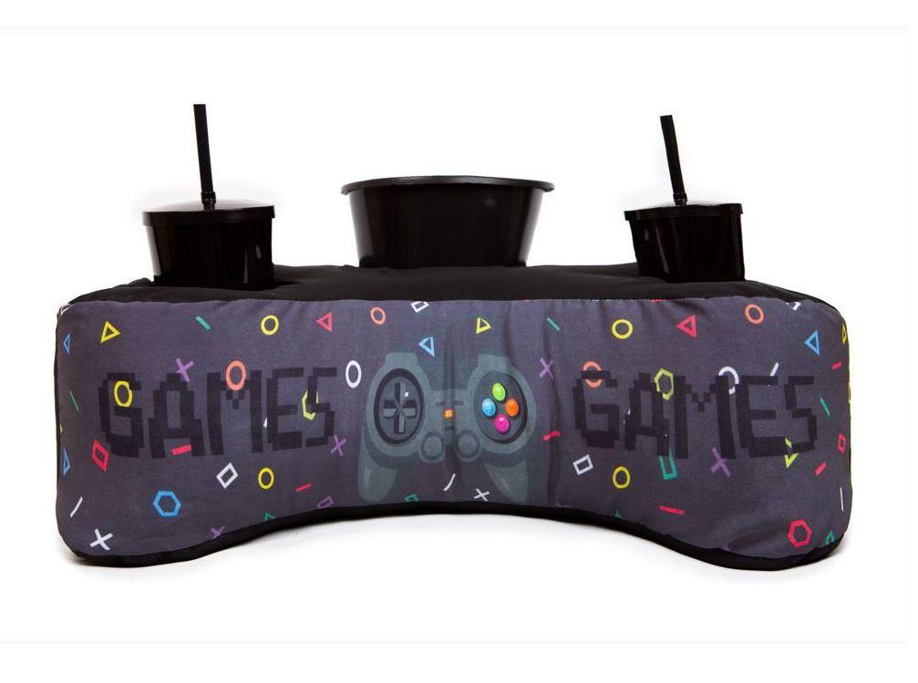 Almofada Pipoca Controle de Video Game