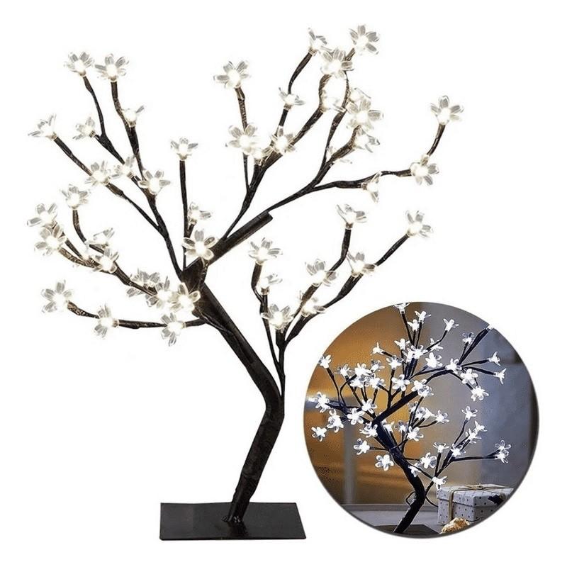 Árvore Cerejeira Led Branco 45cm
