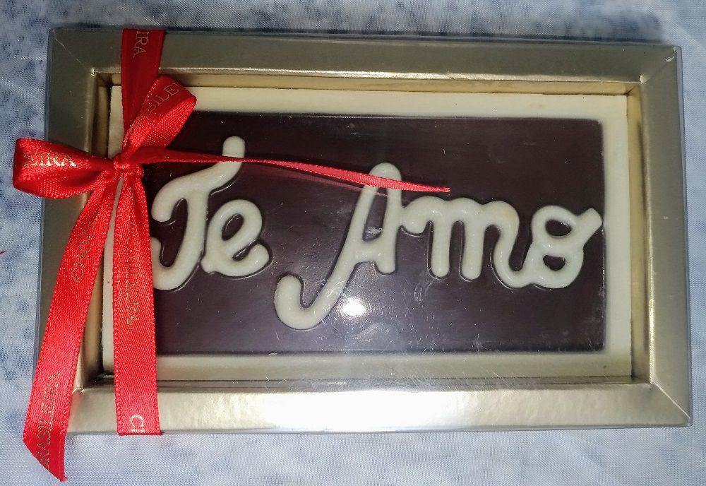 Barra Chocolate ao Leite Te Amo 50g