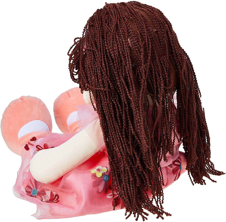 Boneca com Faixa no Cabelo 55cm