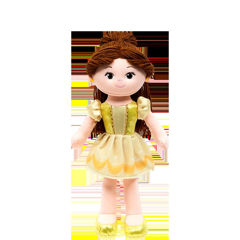Boneca de Pano Princesa Bela Disney