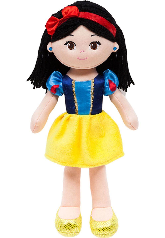 Boneca de Pano Princesa Branca de Neve Disney