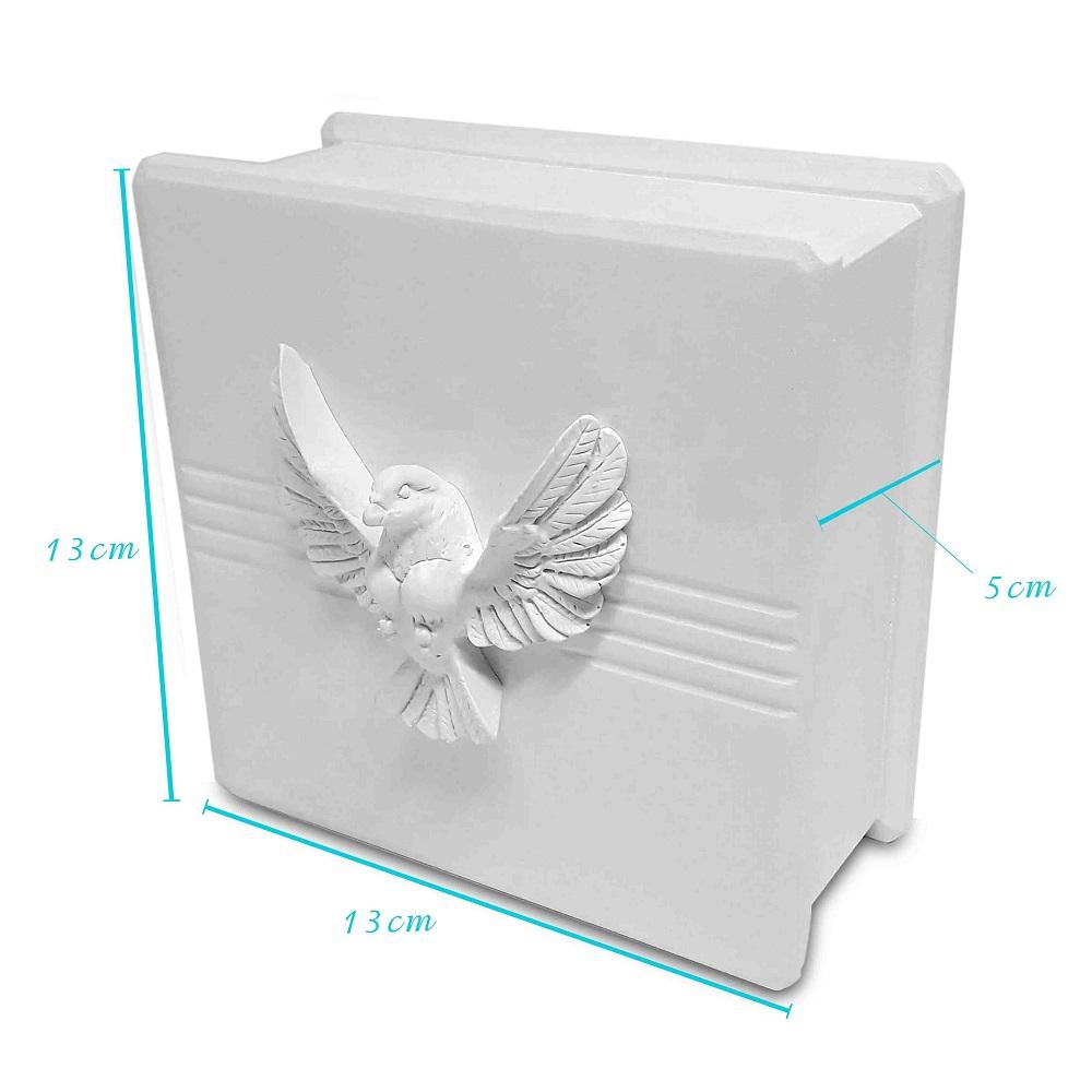 Caixa com Espírito Santo 13x13x5cm