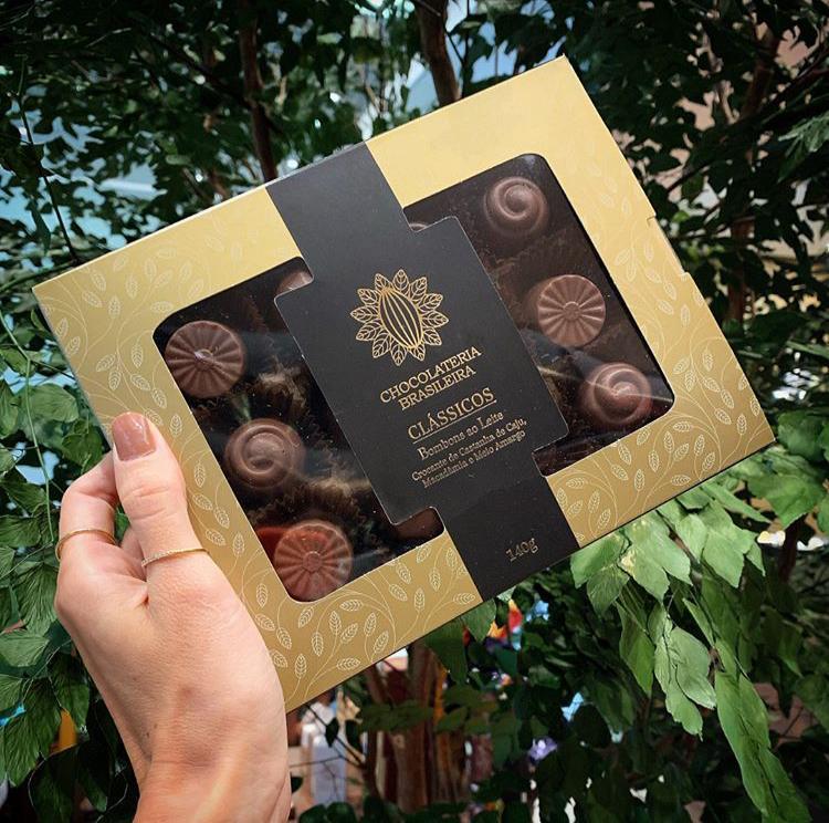 Caixa de Bombom Classico Chocolateria Brasileira 140gr