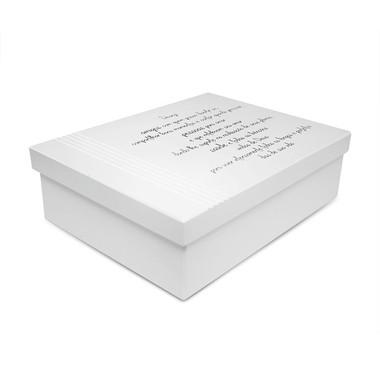 Caixa Organizadora em Sem Repartição com Frases Diversas