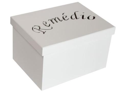 Caixa Organizadora Farmácia  Remédio