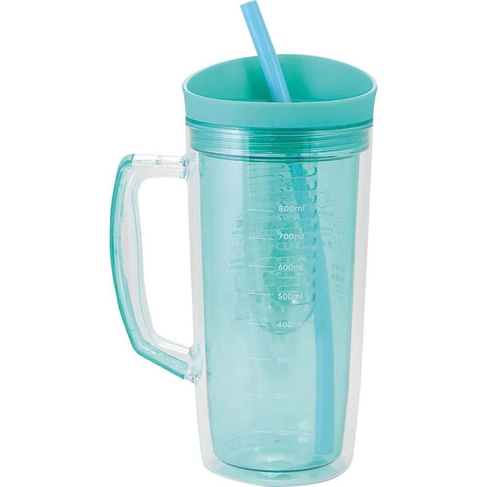 Caneca Jarra Plastica Hidrate-se 1Litro