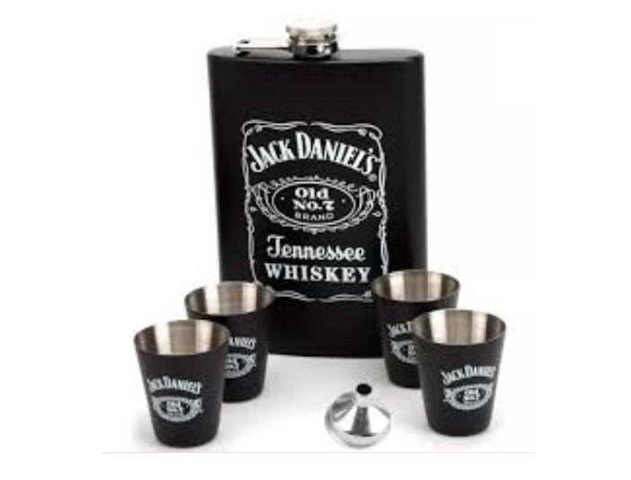 Cantil Inox para Whisky 6pcs