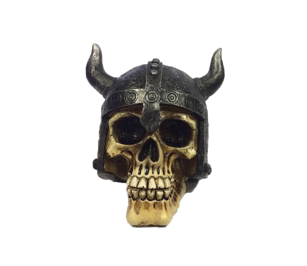 Caveira Viking Enfeite Miniatura