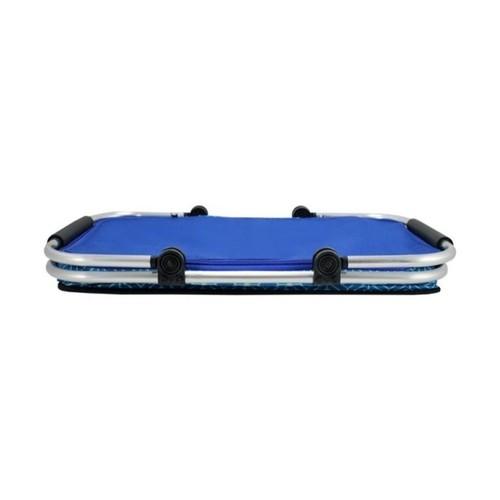 Cesto de Piquenique Térmico Dobrável Azul FRESH