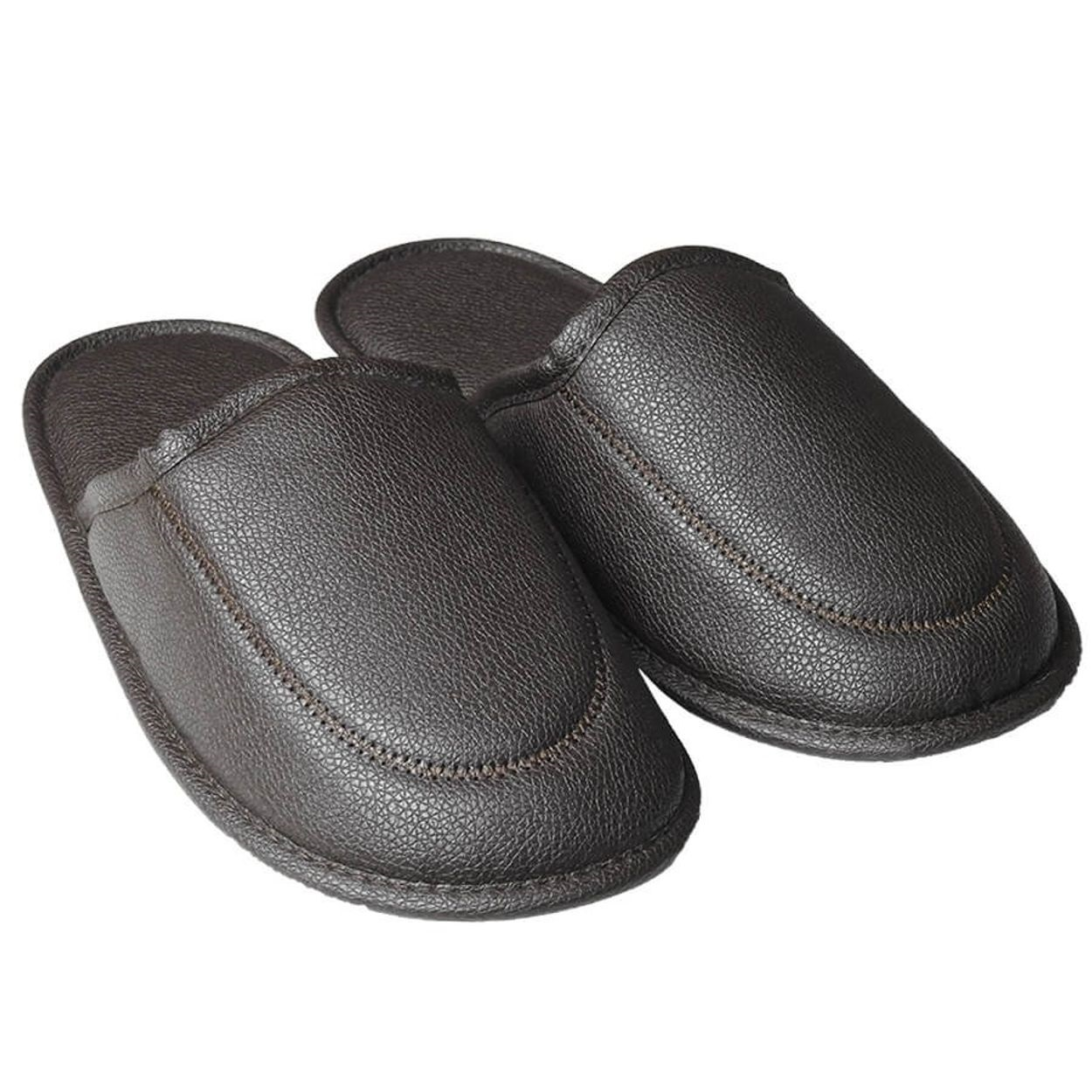 Chinelo Slippers Donna Laço Man Marrom 39/40