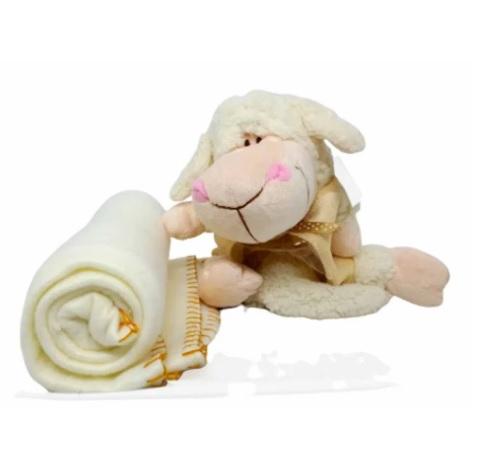 Ovelha Porta Cobertor de Bebê